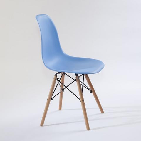 Imagem de Cadeira Eames Decorativa Mesa Sala de Jantar Escritório Azul