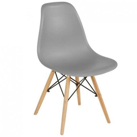 Imagem de Cadeira Eames Decorativa Mesa Sala Jantar Escritório Cinza