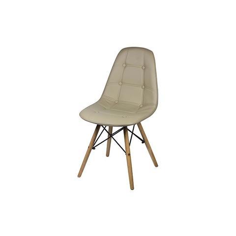 Imagem de Cadeira Eames Dkr Botone Base Eiffel Madeira Fendhi
