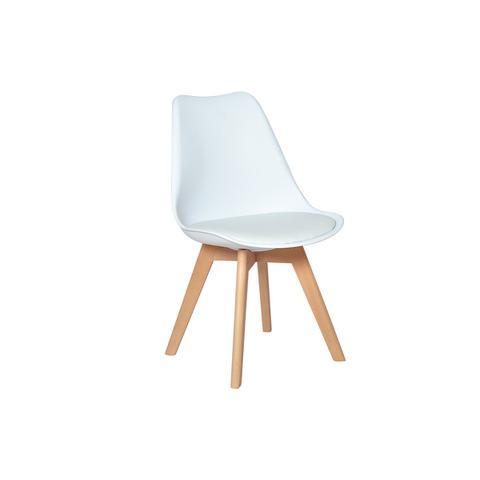 Imagem de Cadeira Eames Wood Leda Design - Branca