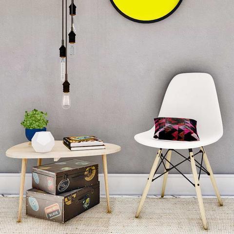 Imagem de Cadeira Eiffel Sala Cozinha Escritório Charles Eames Branca - G4 Magazine