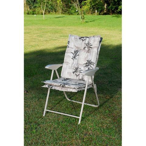 Imagem de Cadeira Estofada Reclinável Kairos Floral Mor 4 Posições