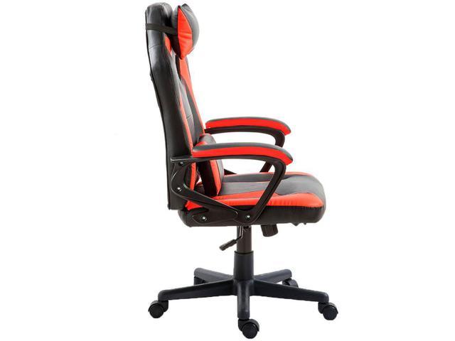 Imagem de Cadeira Gamer Nell Preta e Vermelha Nell100