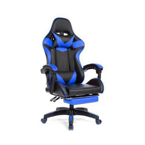 Imagem de Cadeira Gamer Prizi Azul - PZ1006E