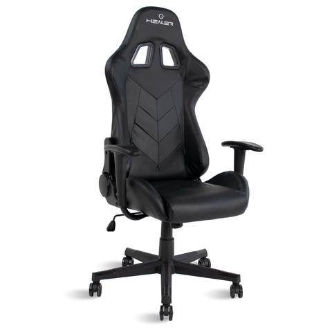Imagem de Cadeira Gamer reclinável Strike 2 almofadas Travel Max Preta