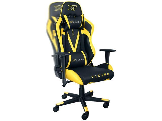 Imagem de Cadeira Gamer XT Racer Reclinável Preta e Amarela