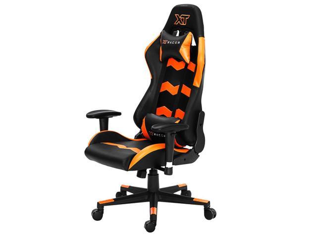 Imagem de Cadeira Gamer XT Racer Reclinável Preta e Laranja