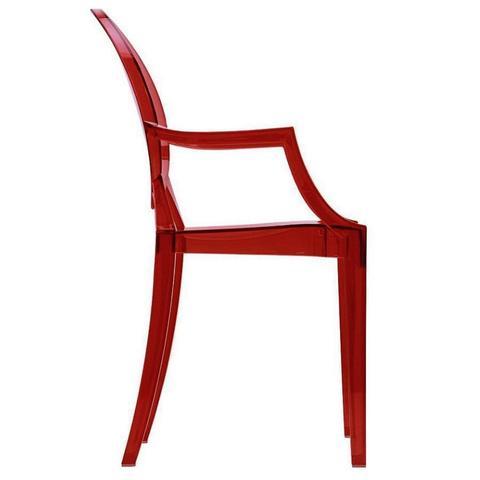 Imagem de Cadeira ghost vermelha