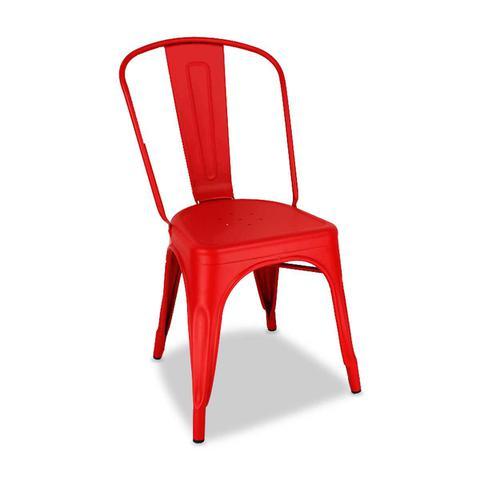 Imagem de Cadeira Industrial Vermelha