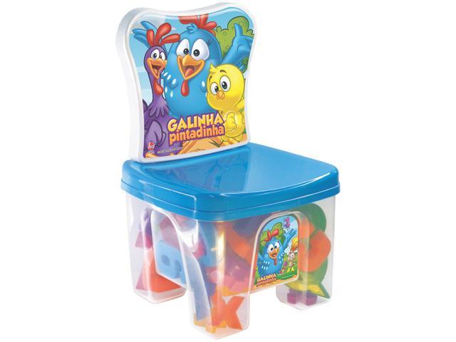 Imagem de Cadeira Infantil Galinha Pintadinha