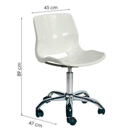 Imagem de Cadeira Juvenil Pequena Grant Branca