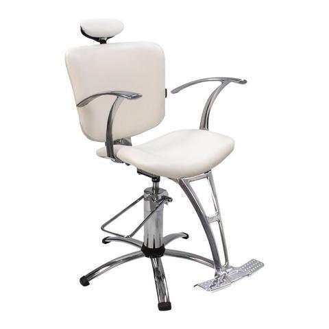 Imagem de Cadeira Lúmia Fixa Dompel Branca