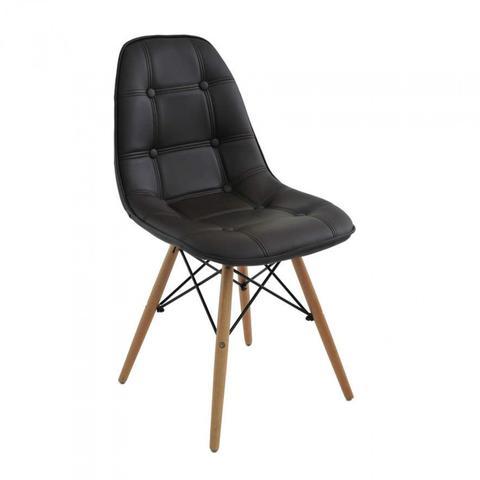 Imagem de Cadeira Madeira Maciça e Poliuretano Eiffel Botonê Rivatti Marrom