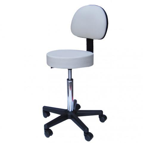 Imagem de Cadeira Mocho com Encosto Fidler - Branca