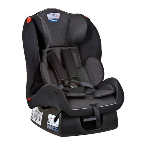 Imagem de Cadeira para Auto Burigotto (até 25kg) Matrix Evolution K - Mesclado Preto