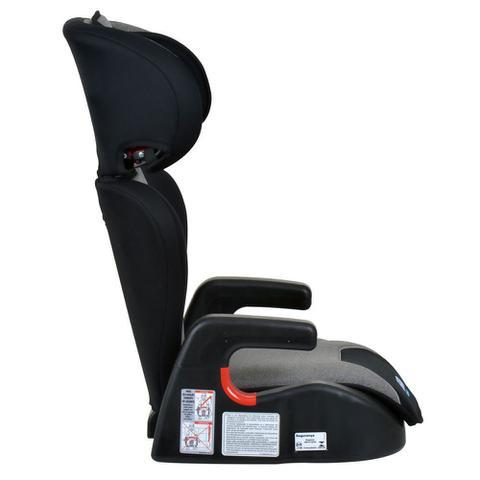Imagem de Cadeira Para Auto Reclinável 15 A 36 Kg Ajustavel Cadeirinha Bebê Infantil Protege Burigotto Mesclado Cinza