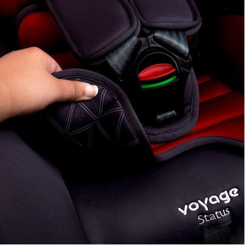 Imagem de Cadeira Para Auto Status - Cinza e Vermelho - Voyage