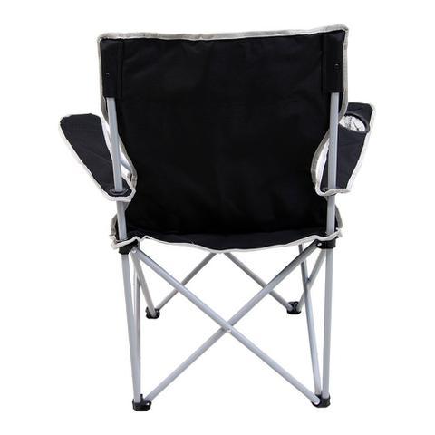 Imagem de Cadeira para camping e pesca articulada Alvorada Preto Nautika NTK 290380
