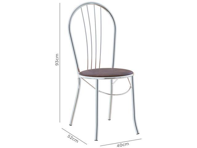 Imagem de Cadeira para Cozinha 2 Peças Brigatto