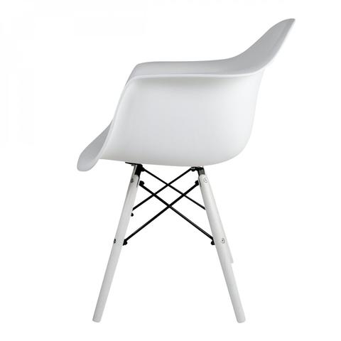 Imagem de Cadeira para Escritório Apoio Braços Eames Arm PP Dsw-p Empório Tiffany Branca