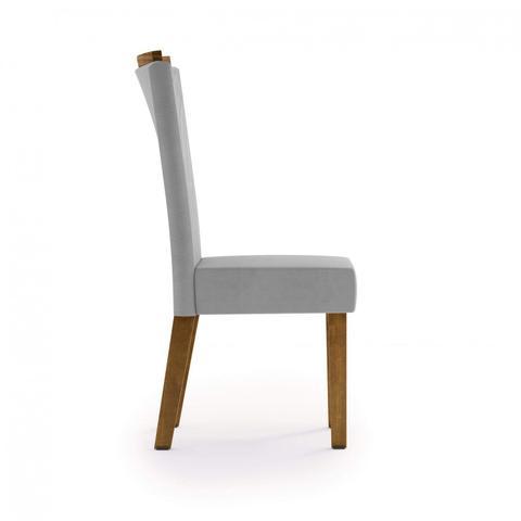 Imagem de Cadeira para Sala de Jantar Estofada Milão PC ArteMobili Freijó