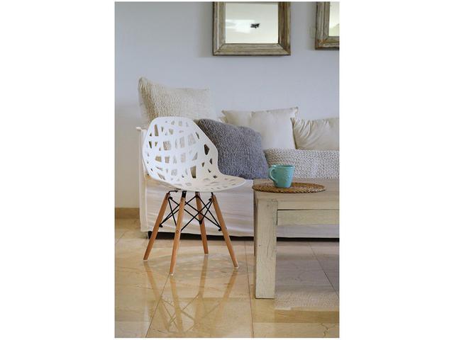 Imagem de Cadeira para Sala de Jantar Pés Palito 2 Peças