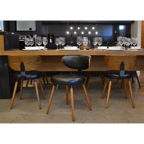 Imagem de Cadeira para Sala de Jantar Toscana Rivatti Preto