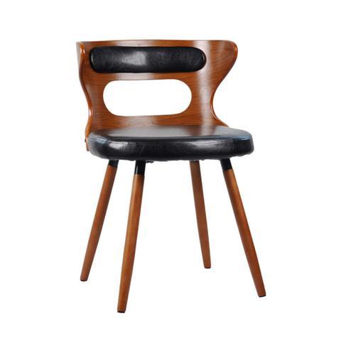 Imagem de Cadeira para Sala de Jantar Vicenza Rivatti Preto