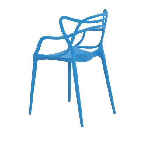 Imagem de Cadeira Polipropileno Allegra Rivatti Azul