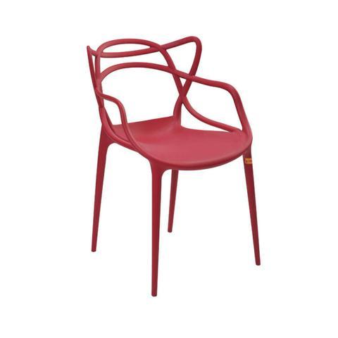Imagem de Cadeira Polipropileno Allegra Rivatti Cereja