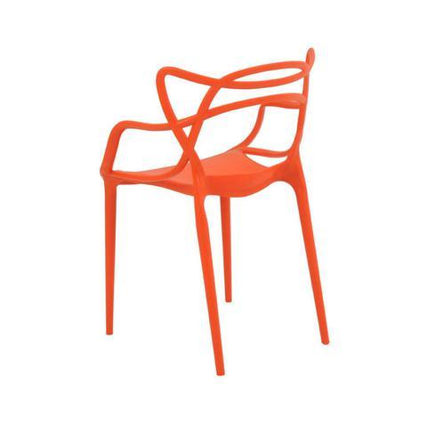Imagem de Cadeira Polipropileno Allegra Rivatti Laranja