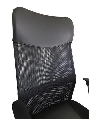 Imagem de Cadeira Presidente em Tela Mesh PEL-8009 Preta