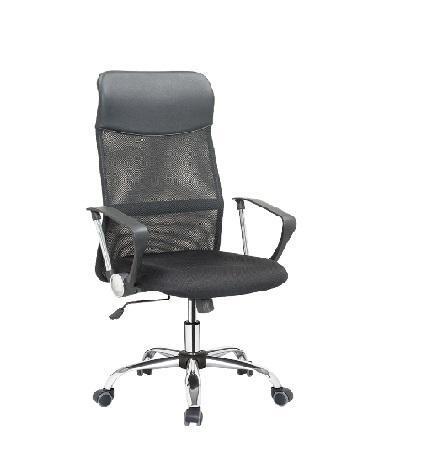 Imagem de Cadeira Presidente Giratória Confortável Ergonômica com Relax e Ajuste de Altura para Escritório Tela Mesh Conforsit-3804
