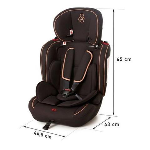 Imagem de Cadeira ravi 9 a 36 kg preto camel  - galzerano