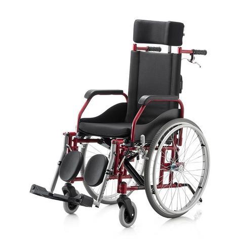 Imagem de Cadeira Rodas Fit Reclinavel 44 Preto Jaguaribe