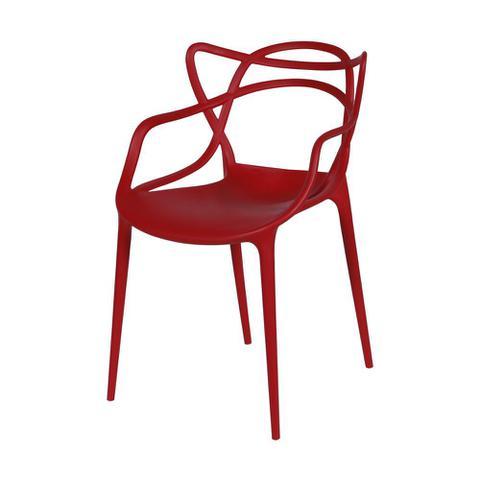Imagem de Cadeira Solna Vermelha Fosca