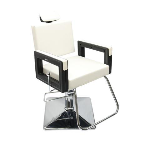 Imagem de Cadeira Square Reclinável - Base Quadrada Pérola