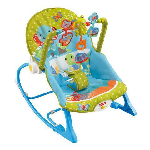 Imagem de Cadeira Vibratória Fisher Price Minha Infância Bosque - Até 18kg