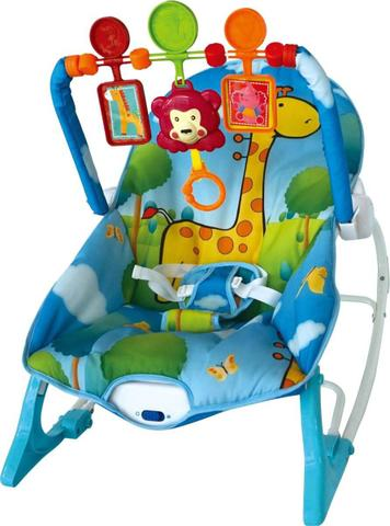 Imagem de Cadeirinha de Descanso para Bebês (Base Curva) com Vibração e Som