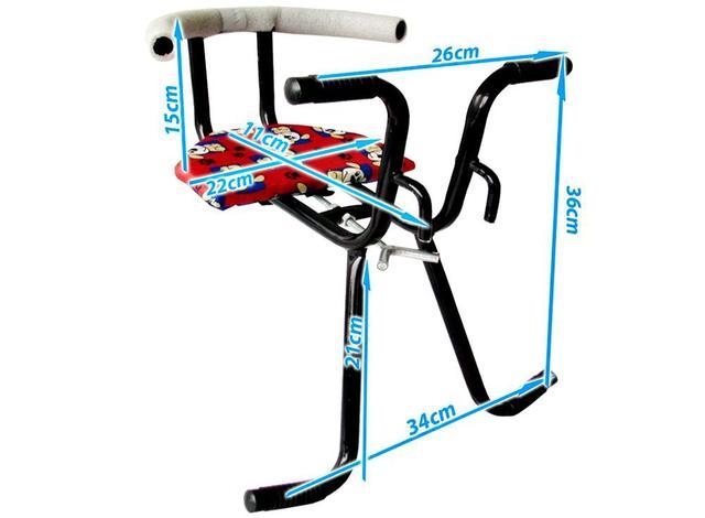 Imagem de Cadeirinha Para, Bicicleta Com Cinto,p Transporte Infantil V