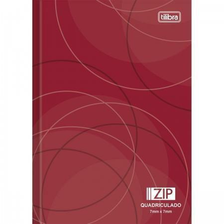 Imagem de Caderno Brochura Capa Dura 1/4 Pequeno Quadriculado Zip 7mm