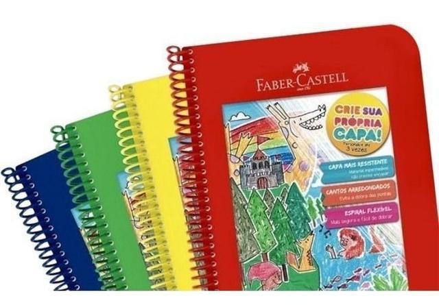 Imagem de Caderno Crie Sua Própia Capa - Faber Castell