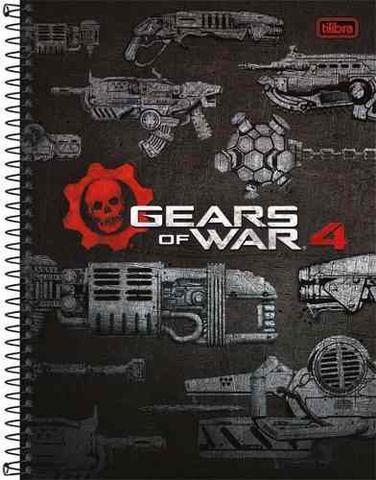 Imagem de Caderno Gears Of War 4 96 Fls Capa Dura Tilibra Tilibra