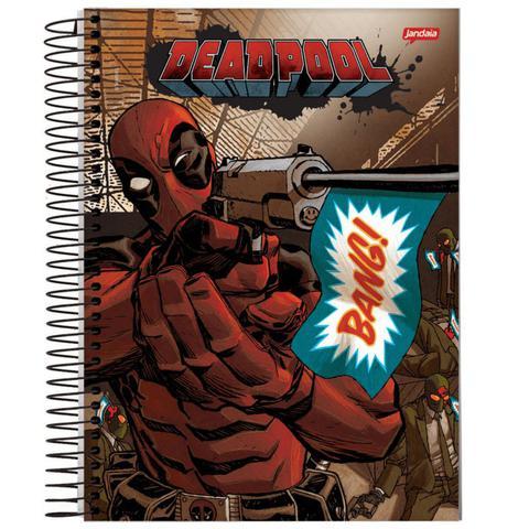 Imagem de Caderno Universitário - Deadpool - Bang - 200 folhas
