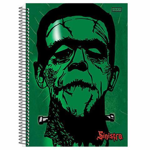 Imagem de Caderno Universitário Sinistro 15 Matérias São Domingos