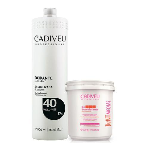 Imagem de Cadiveu Buriti Mechas Pó Descolorante + Oxidante 40 Volumes
