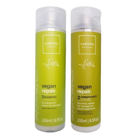 Imagem de Cadiveu essentials by anitta kit shampoo + condicionador vegan repair