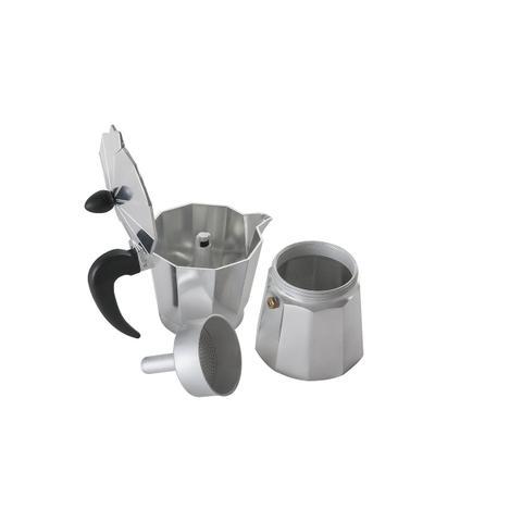 Imagem de Cafeteira alumínio para 6 xicaras 300ml Verona Cód. 6581