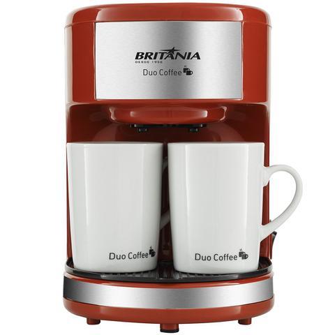 Imagem de Cafeteira Britânia Duo Coffee Vermelha