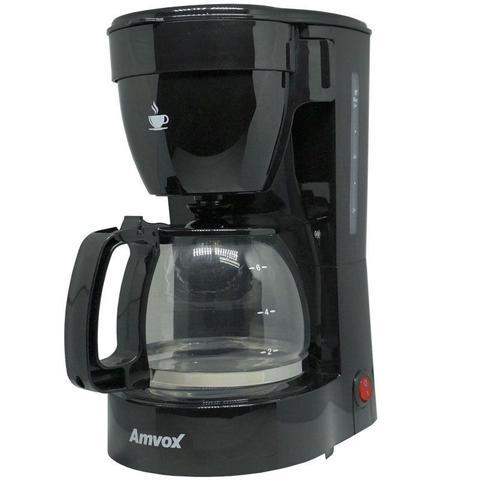 Cafeteira Elétrica Amvox Preto 110v - Acf227